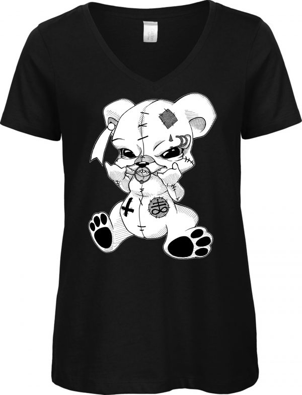 T-Shirt Male Teddy Metalhead / Occult Art