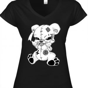 T-Shirt Female Teddy Metalhead / Occult Art