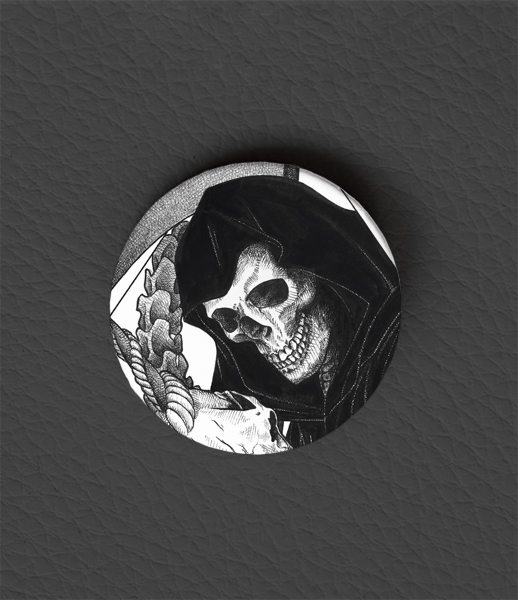 Button Enchanted / Occult Art