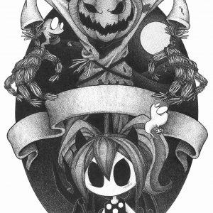 Motiv Halloween / Occult Art